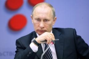 Путина не освистали в Петербурге, потому что он не приехал