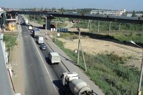 У 2500 грузовиков в Петербурге обнаружили лишний вес