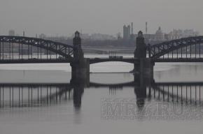 Попасть внутрь Большеохтинского моста можно до 13 ноября