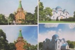 Фрунзенцам представили проект нового храма на улице Димитрова