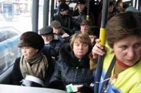 В Москве безбилетный пассажир довел контролера до комы
