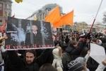 На Пионерской площади завершился митинг: Фоторепортаж