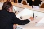 Первое заседание нового ЗакСа: фоторепортаж: Фоторепортаж
