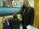 Фоторепортаж: «Тюльпанов пришел на участок с сыном»