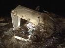 Под Петербургом упал такой же самолет, как под Ростовом: Фоторепортаж