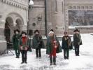 Снежный городок «возьмут» 24 декабря, если будет снег: Фоторепортаж