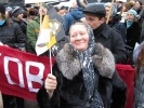 Фоторепортаж: «Митинг в Москве: лица и плакаты (Фото)»