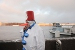 Дед Мороз прибыл в Петербург: Фоторепортаж