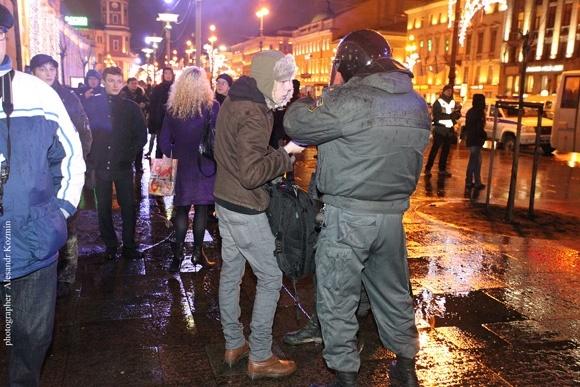 Митинг 6 декабря в Петербурге: фоторепортаж: Фото