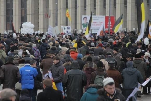 Сколько человек было на митинге в Москве? (ФОТО): Фото