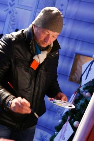 Полтавченко и Гальцев посетили рождественскую ярмарку: Фото