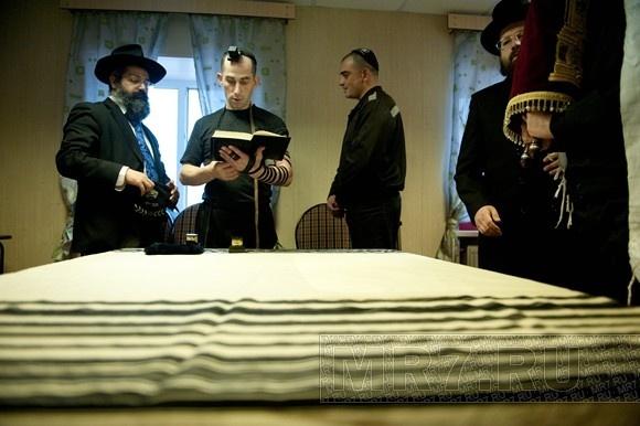 В колонии строгого режима № 7 открыли синагогу: Фото