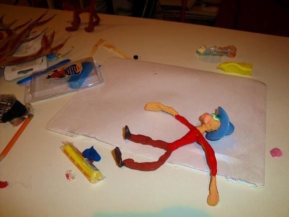 Дети создали пластилиновый мультфильм о бездомных: Фото