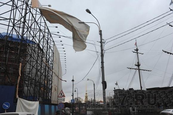 В Петербурге небольшое наводнение (ФОТО): Фото