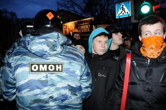 Митинг в Петербурге: площадь Восстания - Пионерская площадь: Фото