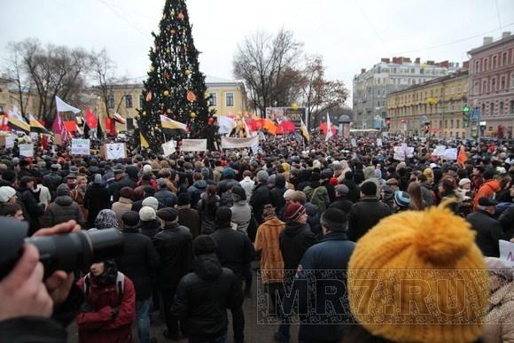 Митинг «За честные выборы» 18.12. Фоторепортаж: Фото