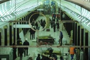 В Петербурге скоро откроют самую глубокую станцию метро