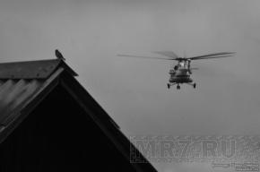 МЧС: В результате жесткой посадки вертолета под Сургутом погибших нет