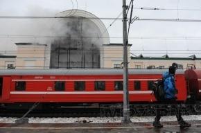 Вокзал в Зеленогорске горел всю ночь