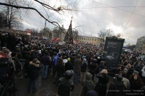 Митинг в Петербурге: площадь Восстания - Пионерская площадь