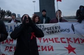 В Петербурге прошел пикет в защиту политзаключенных (фото)