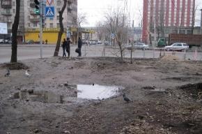 Горожане жалуются на только что отремонтированную улицу Маршала Говорова