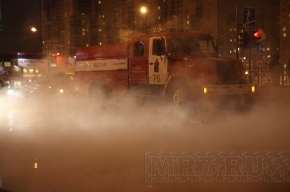 В Калининском районе - коммунальная авария