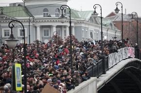 На проспекте Сахарова в Москве замечены машины внутренних войск
