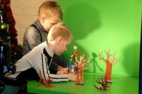 Дети создали пластилиновый мультфильм о бездомных