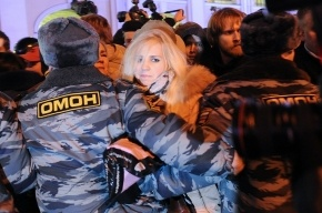 Глава петербургской полиции доволен работой подчиненных на митингах