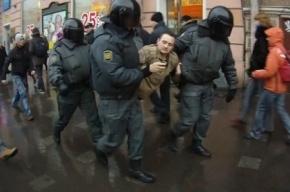 СК: В Петербурге арестовали мужчину, призывавшего бить полицейских
