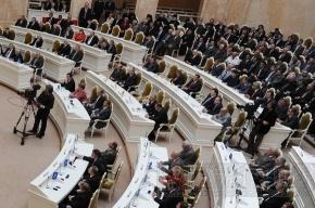 У петербургского парламента поменялось «лицо»