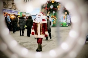На рождественской ярмарке начали рисовать «Чудеса Петербурга»