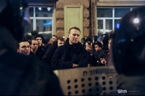 Навального не отпустили из-под ареста