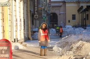 Снегоплавильный пункт появится на Октябрьской набережной