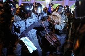 Митинг, начавшийся у Гостиного двора, завершился у площади Восстания