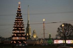 Дед Мороз прилетит в Петербург на вертолете