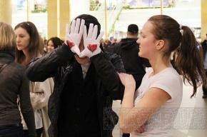 Глухие петербуржцы станцевали «танец сердец» (фото)