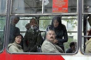 Очередное ДТП на выходе из трамвая. Есть пострадавшие