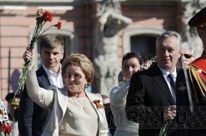 Матвиенко вручила Тюльпанову мандат