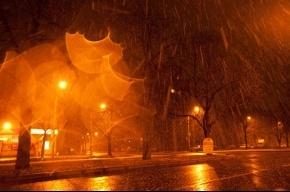 Утренний cнег