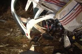 Под Петербургом упал такой же самолет, как под Ростовом
