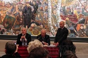 В Манеже прошла встреча с Ильей Глазуновым (фото)