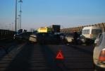 На КАД – две аварии (фото): Фоторепортаж