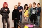 Петербуржцев приглашают на интерактивную инсталляцию «Потрогай меня за нос»: Фоторепортаж