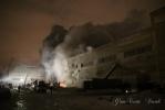 В Красногвардейском районе – большой пожар на складе: Фоторепортаж