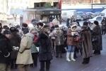 Полевая кухня и военная техника у БКЗ «Октябрьский» (Фото): Фоторепортаж