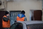 «Парилка» на Синопской набережной не впечатлила коммунальщиков, ремонтников и спасателей: Фоторепортаж