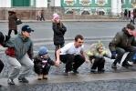 Фоторепортаж: «На «Русскую пробежку» 1 января собрались полтысячи петербуржцев»