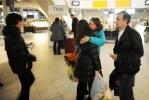 Фоторепортаж: «Возвращение петербуржцев с Costa Concordia: фоторепортаж»